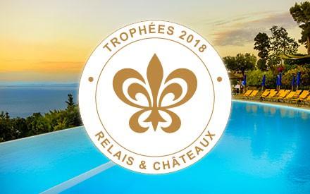 Relais & Châteaux 2018 Trophy: award-winning property