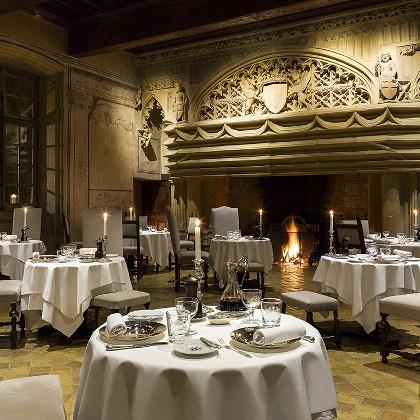 hotel restaurant chateau beau jardin