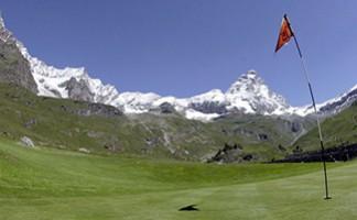 Cervino golf course