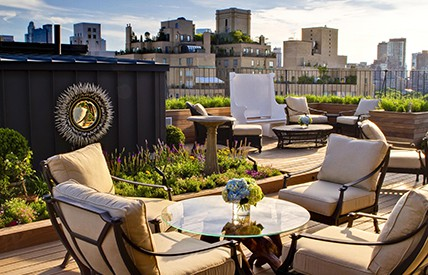 The Surrey, voted the no. 1 hotel in New York City by the Condé Nast Traveler magazine