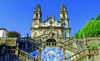Lamego and its impressive steps