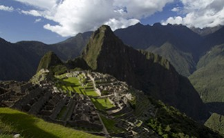 The Machu Picchu archeological site
