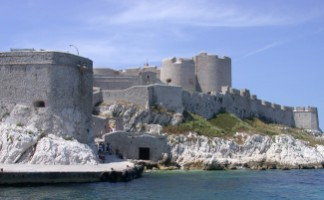 The Chateau d'If and the Iles du Frioul