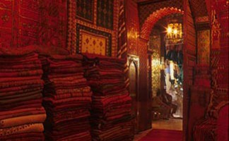 Mustapha Blaoui's boutique