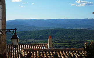 The village of Gassin and its panoramic views