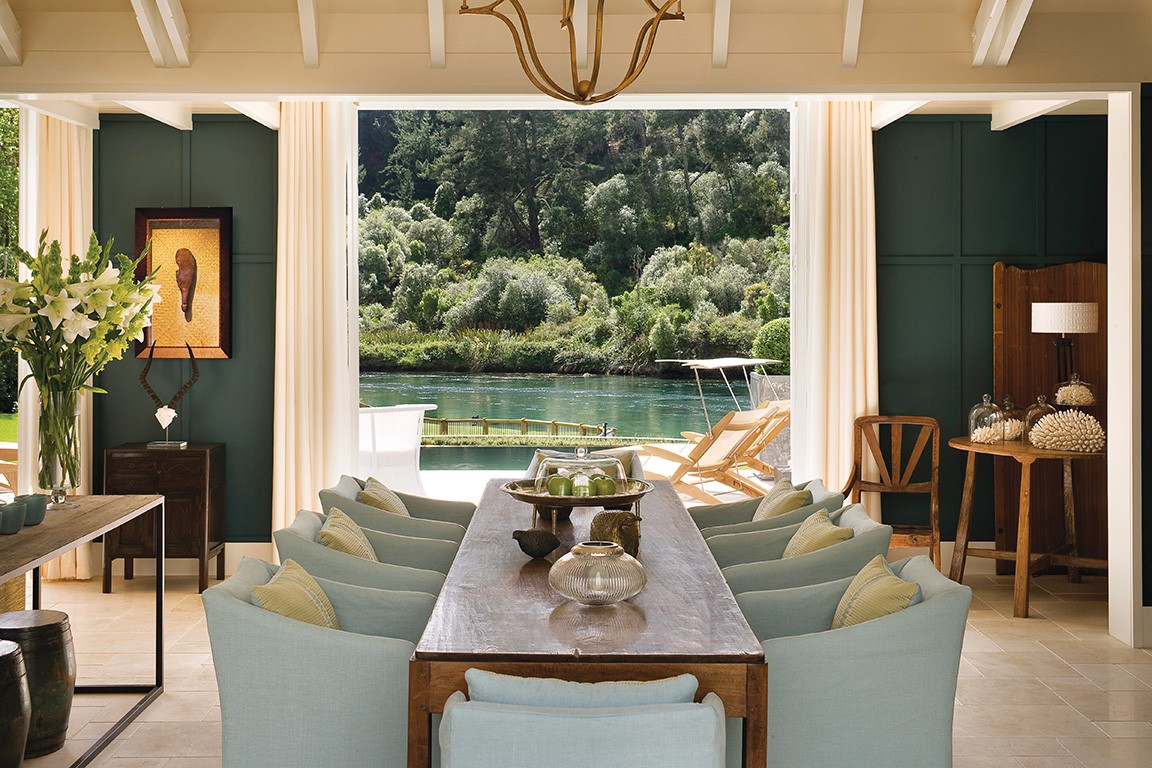 3 Huka Lodge Taupo New Zealand A Fishing Retreat In The Middle Of S North Island More Than Three Hours From Auckland