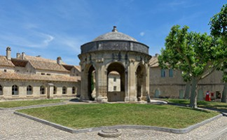 The Carthusian Monastery in Villeneuve lez Avignon