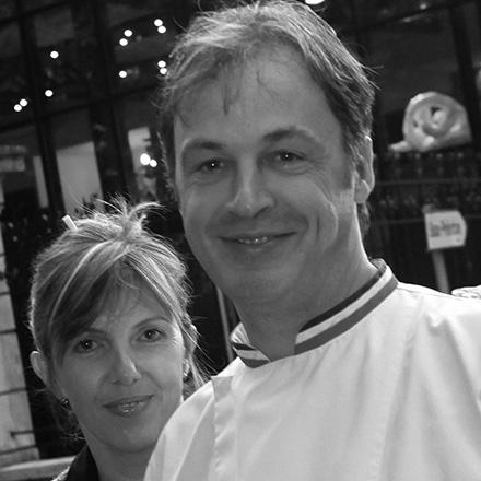 Martine and Jacques Decoret