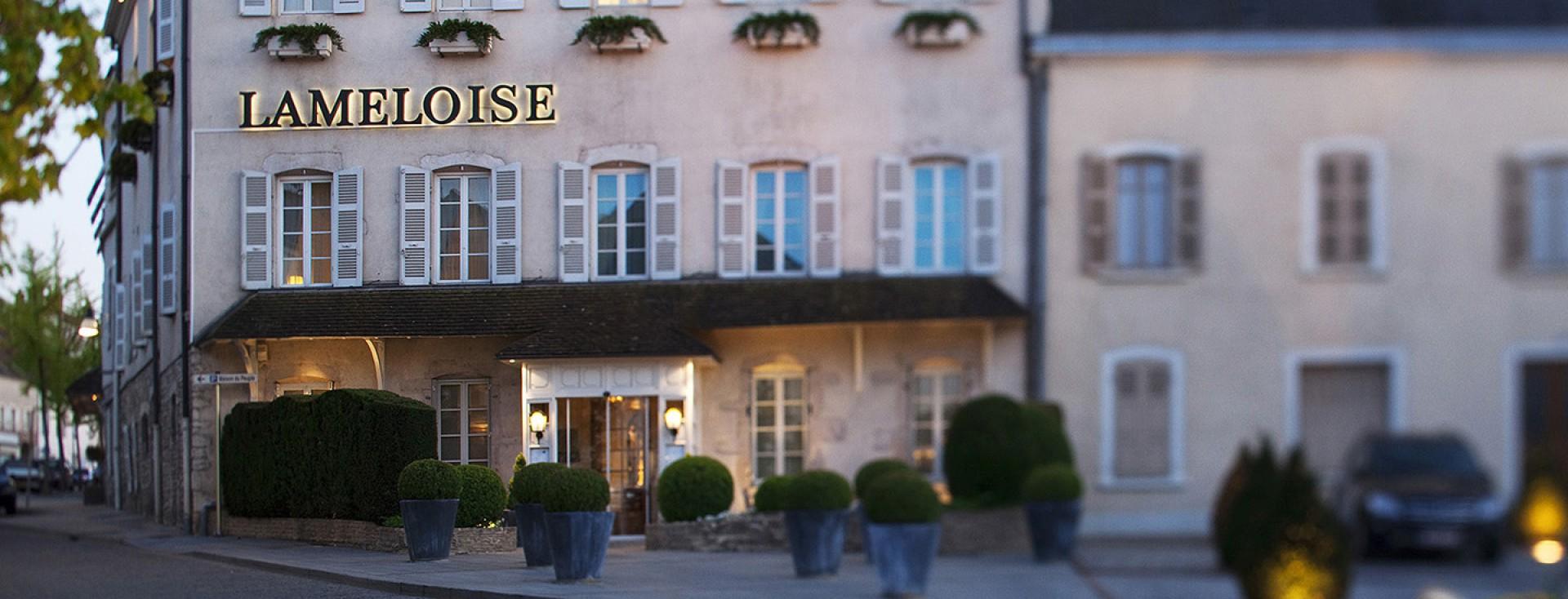Maison Lameloise, Luxushotel und Sternerestaurant in einem Dorf 3 ...