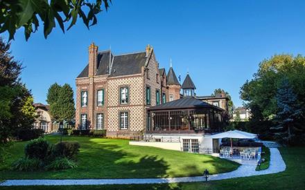hôtel de luxe haute normandie