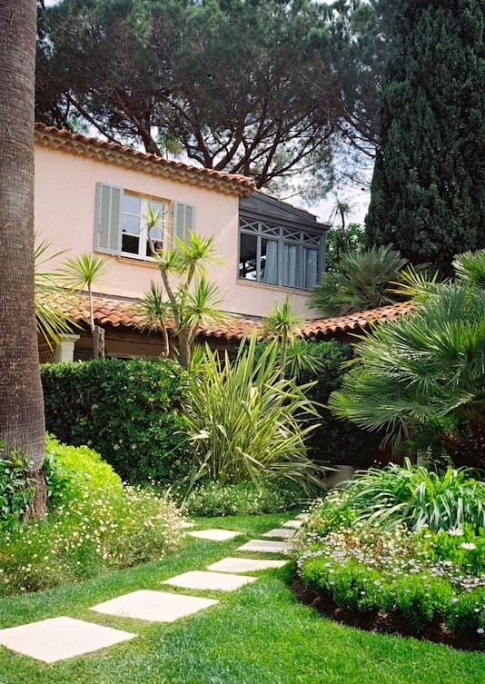 luxury hotel La Bastide in Saint-Tropez