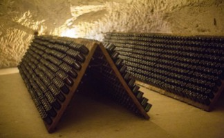 Taittinger cellars, Reims
