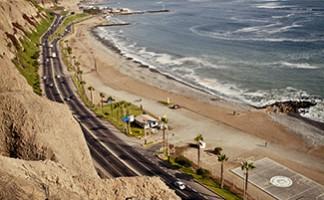 Il lungomare, Lima