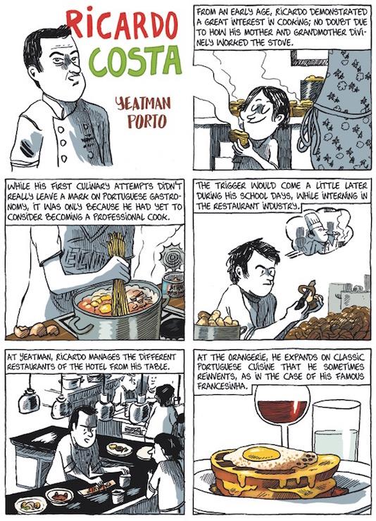 The chef Ricardo Costa - The Yeatman Porto