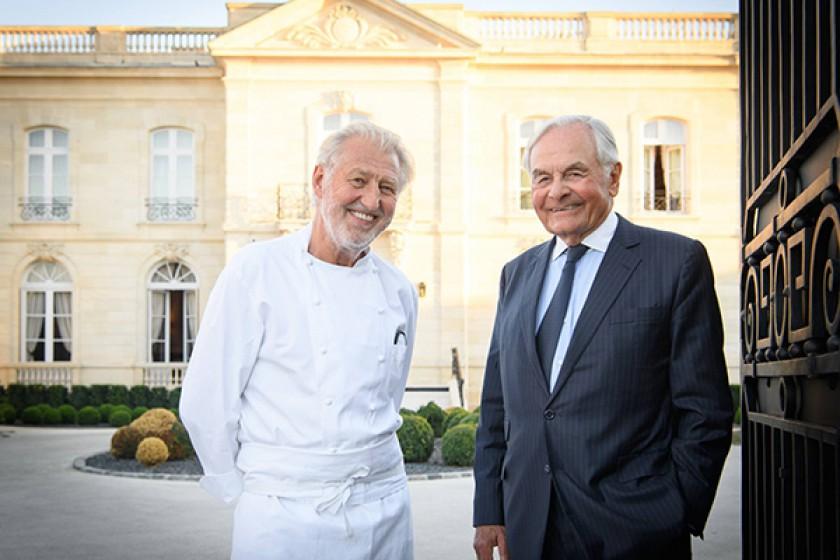Pierre Gagnaire et Jean-Denis Le bras - La Grande Maison de Bernard Magrez