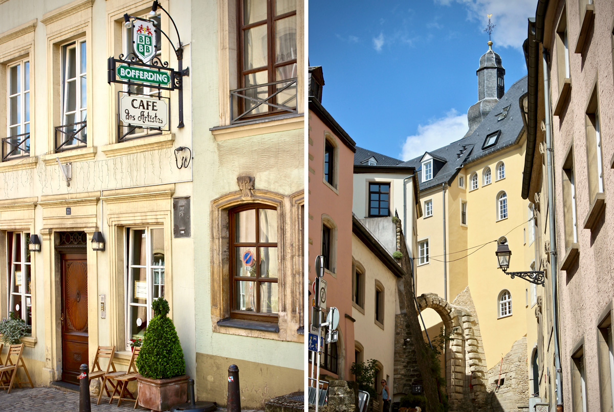 Maison Avec Patio Central luxembourg city, the unknown capital in the heart of europe