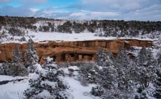 Discovery of pueblos, Mesa Verde national park