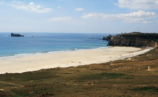 La plage de la Touesse