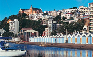 Wellington, the prettiest capital in the world (weather permitting)