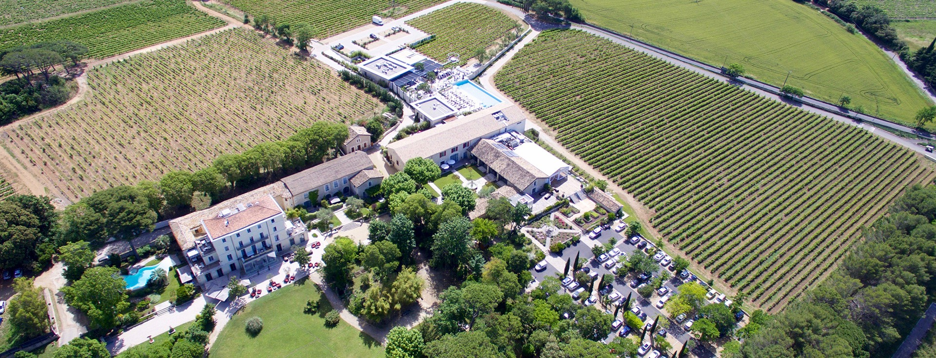 Le Domaine de Verchant, Boutique Hotel in a vineyard in ...