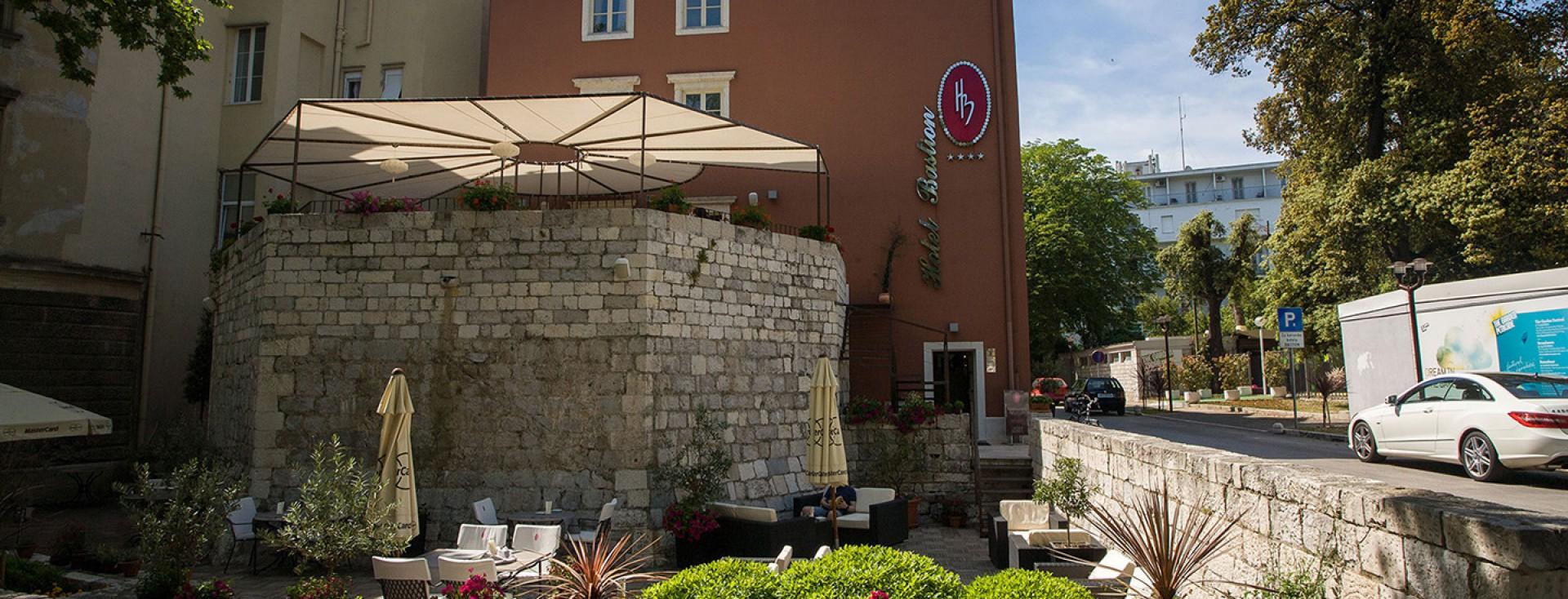 Hotel bastion zadar boutique hotel and gourmet restaurant for Best boutique hotels in zadar