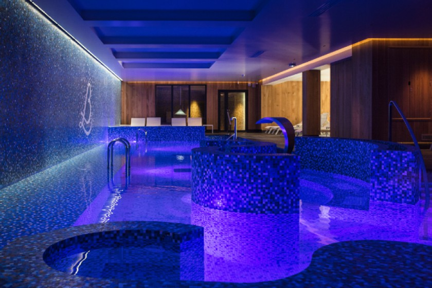 The Relais Bernard Loiseau Is Equipped With A 1500 M2 Spa
