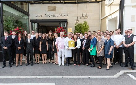 Jean-Michel Lorain's Côte Saint-Jacques & Spa awarded a 5th star!