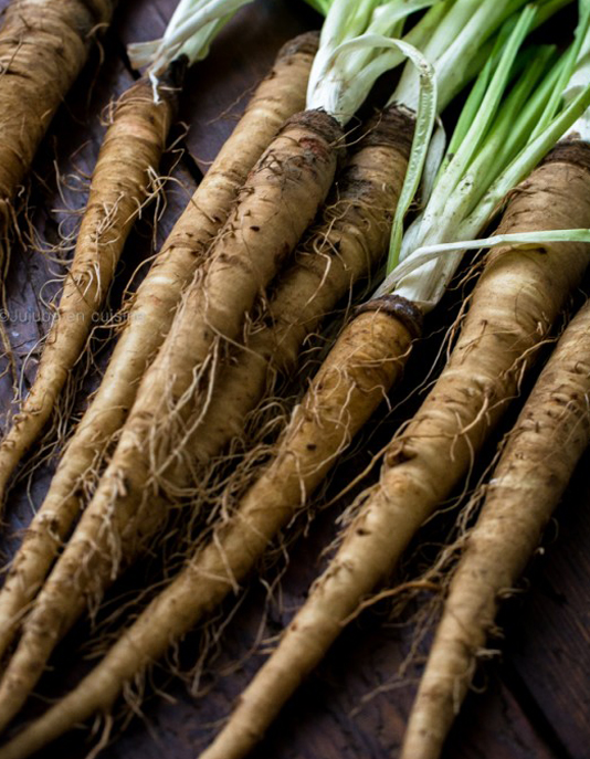 Salsify : forgotten vegetables cooked by Relais & Châteaux chefs