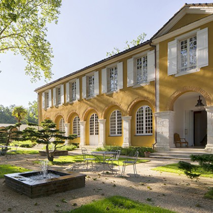 La bastide h tel de luxe in barbotan les thermes relais for Bastide au jardin secret