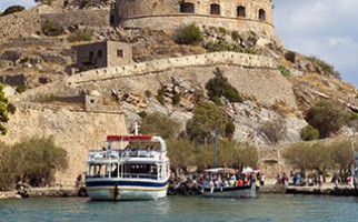 A boat ride to Spinalonga