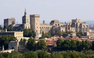 The Old Town and the Palais des Papes