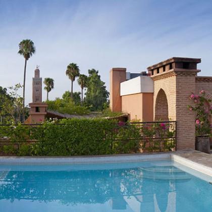 Villa des orangers h tel de luxe en ville marrakech for La villa des orangers