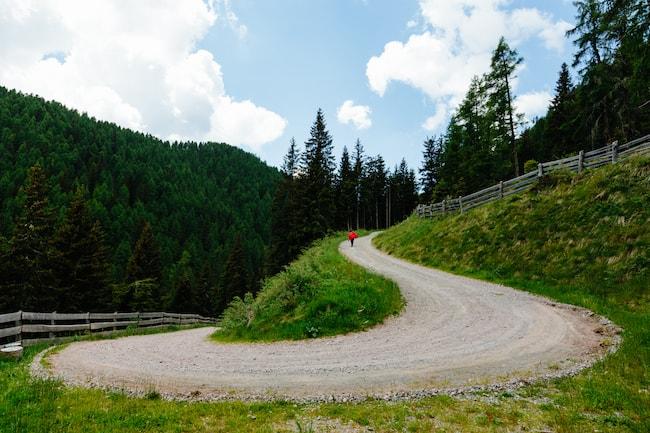 Dolomites autour du restaurant Auener Hof