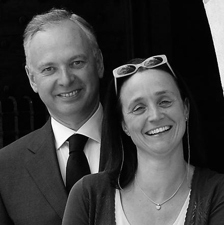 Philippe y Stéphanie Gombert